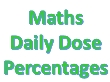 Maths Daily Dose - Percentages