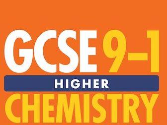 GCSE Chemistry Triple Notes - Energy Changes
