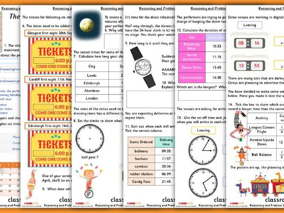 Time Consolidation Year 3 Summer Block 2 Reasoning and Problem Solving
