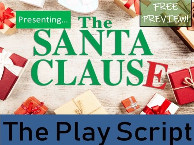 Christmas Play Scripts Free.Free Preview Christmas Play Script The Santa Clause By