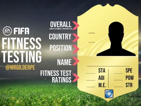 FIFA Ultimate Team - Fitness Testing
