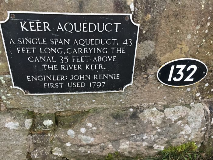 Keer Aqueduct, Carnforth, Lancashire Canal, England