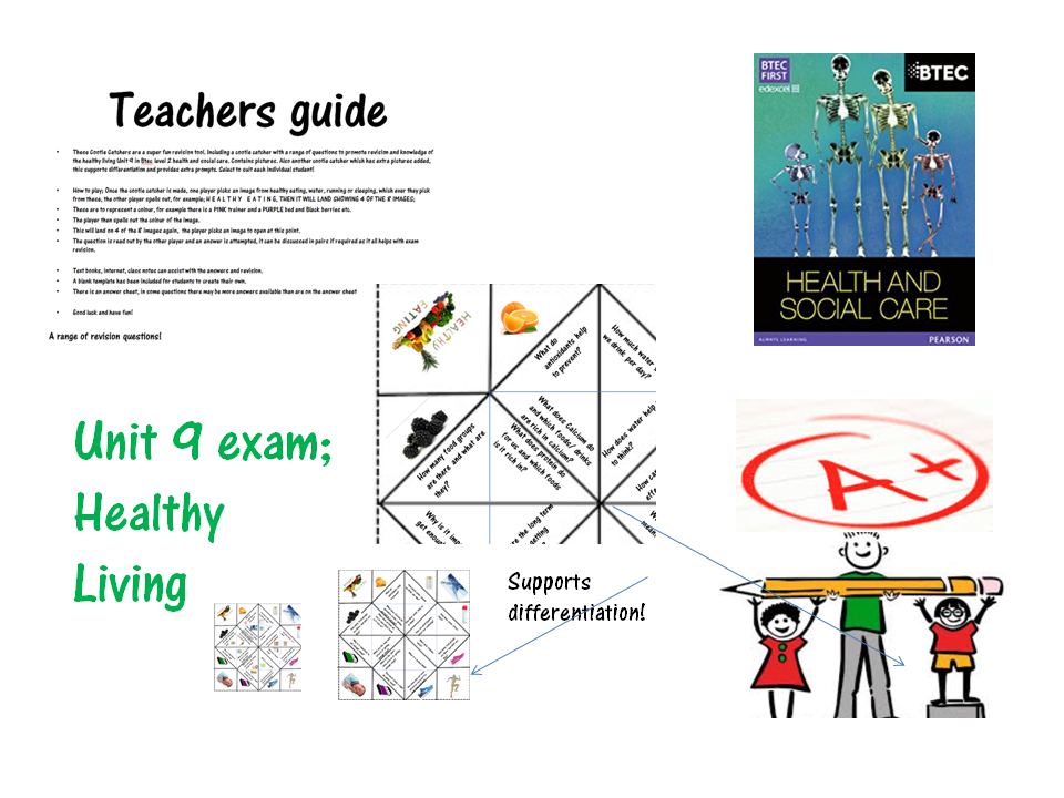 Cootie catcher/ chatter box- revision game for Health and social care- sexual practice