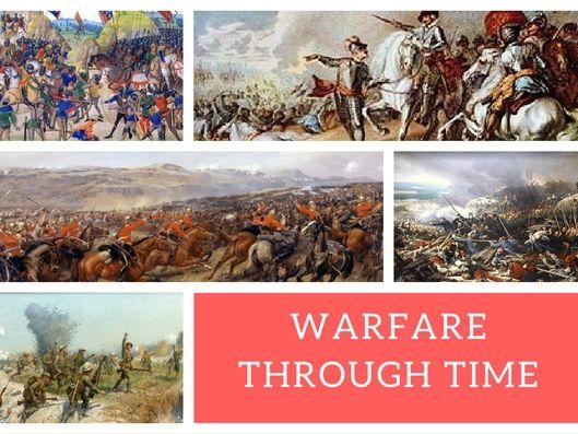 Edexcel Warfare Through Time - Key Topic 1 (1250-1500) - Student Work Book