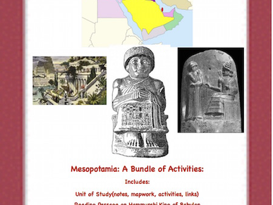 Mesopotamian: A Bundle of Resources!