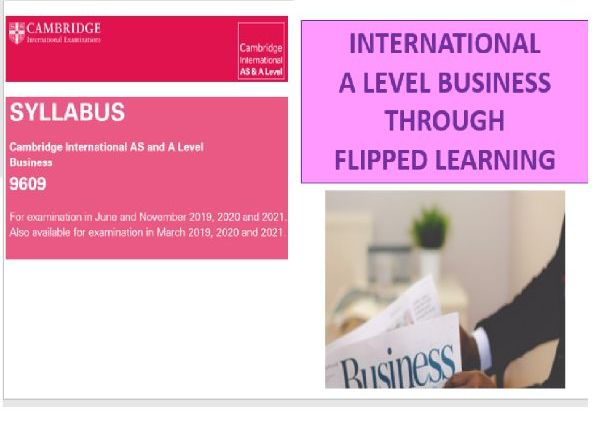 Year 13 Cambridge International A level Business Flipped Notes Booklet 2