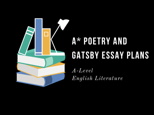 A* POETRY AND GATSBY PLAN: NON SUM QUALIS