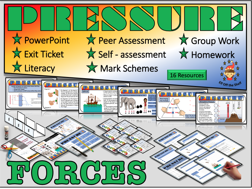 Forces - Pressure KS3