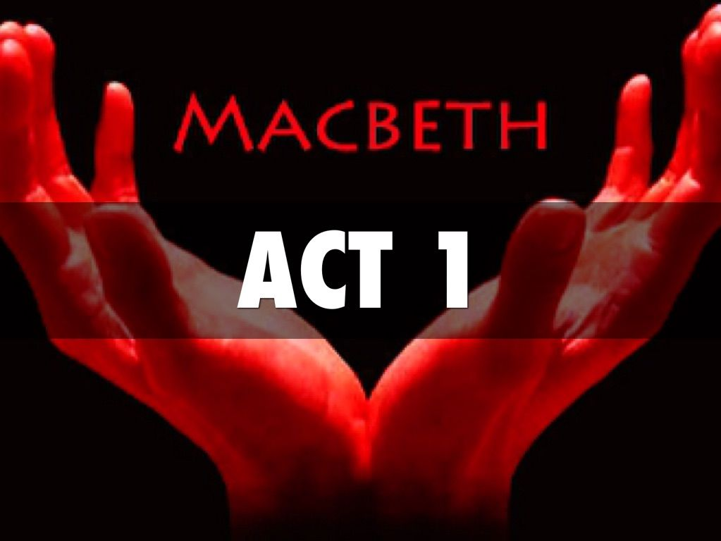 Macbeth Act 1 Resources Bundle