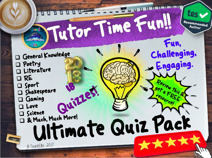 Tutor Time: Quizzes-Tutor Time!