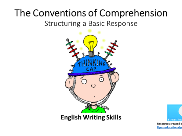 KS3 English Writing Skills – The Conventions of Comprehension