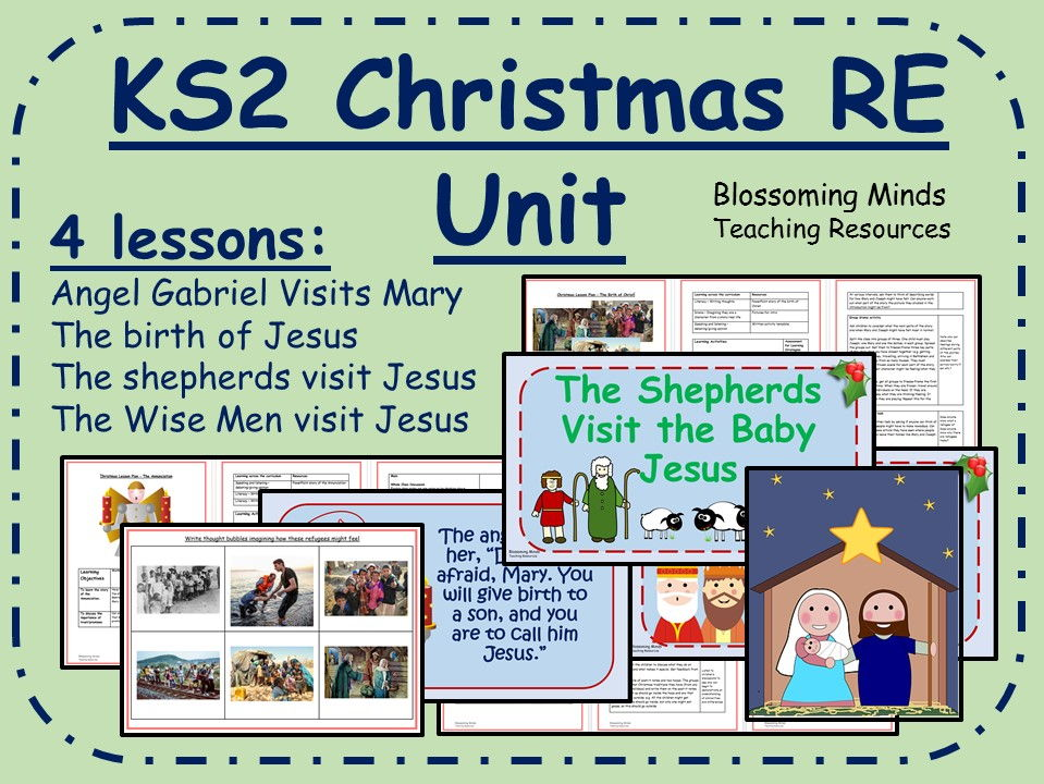 KS2 Christmas RE Unit (4 lessons)