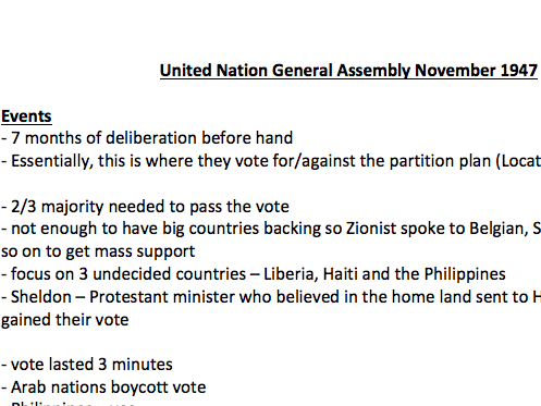 United Nation General Assembly November 1947