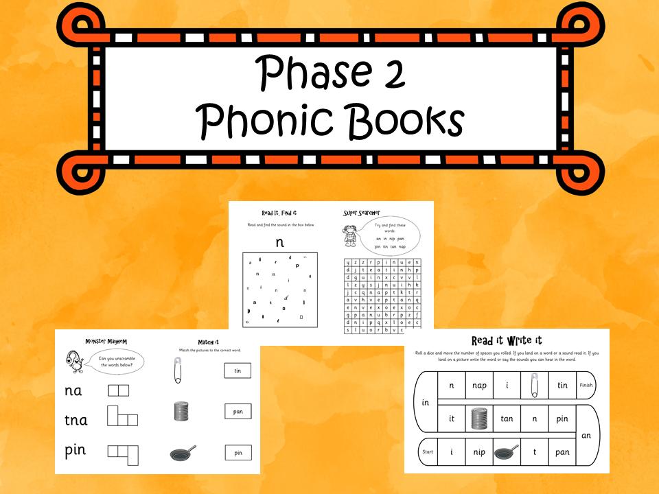 Phonics Phase 2 Books