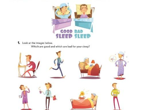 Let's talk about SLEEP HABITS!