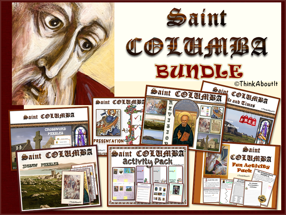 Christianity: St. Columba Complete Unit of Study - Free Video Showcase