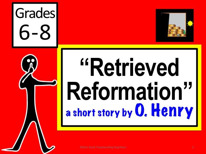 Retrieved Reformation by O. Henry