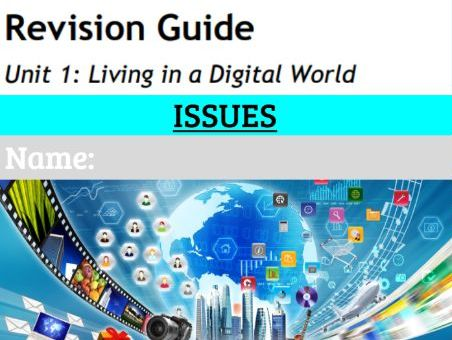 GCSE ICT Revision workbook 6: Issues