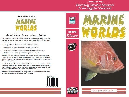 Pacemaker: Marine Worlds - For Upper Primary