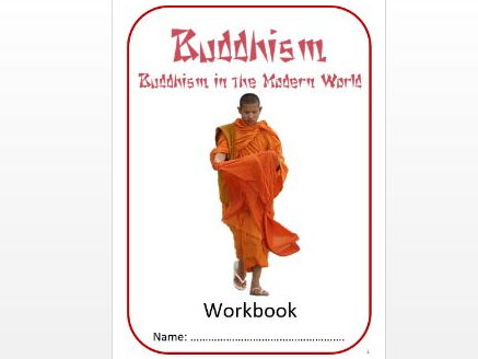 Buddhism: Buddhism in the Modern World Workbook: Low Ability