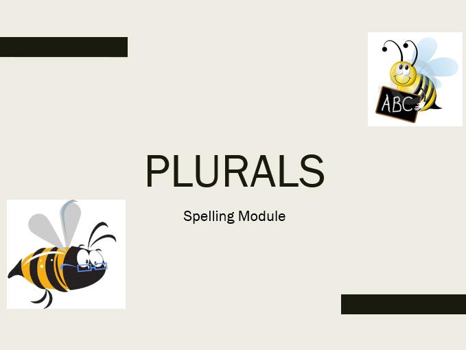 Plurals TEFL