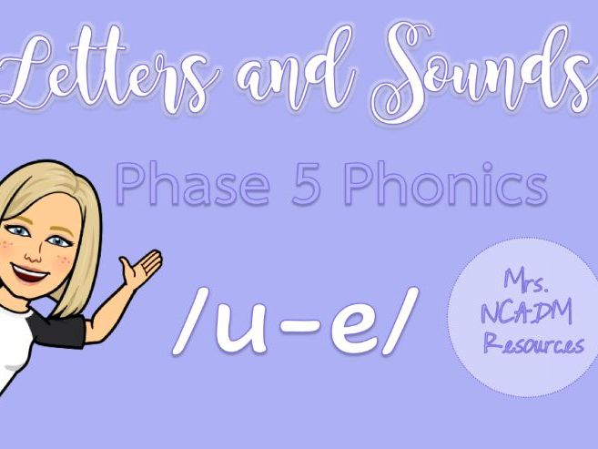 Phase 5a Phonics /u-e/ resource pack (Letters & Sounds)