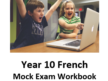 GCSE French student revision workbook (Week 1 - Friends, family, relationships and technology)