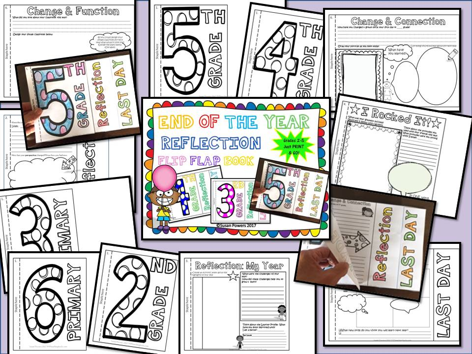 Moving Up! End of the Year Flip Book Activity for Any Grade Level