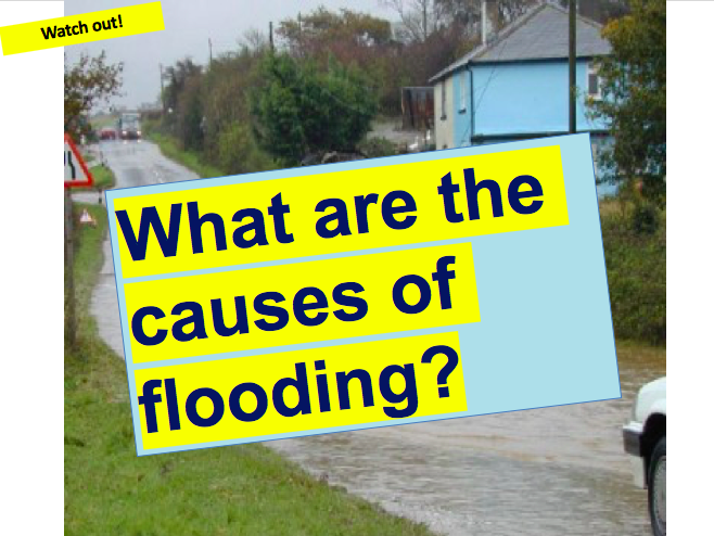 What are the Causes of Flooding? Weather, Climate and Natural Hazards.