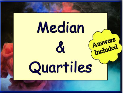 Median & Quartiles of Grouped and Continuous Data
