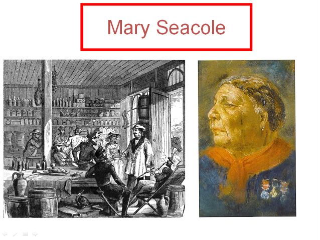 Life of  Mary Seacole and her own book