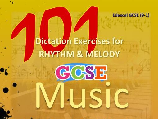 DICTATION - RHYTHM & MELODY - 101 LISTENING QUESTIONS BOOK [NO MP3s]