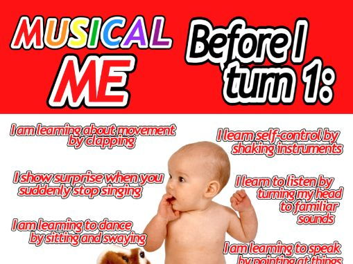 Musical ME from BIRTH to SEVEN