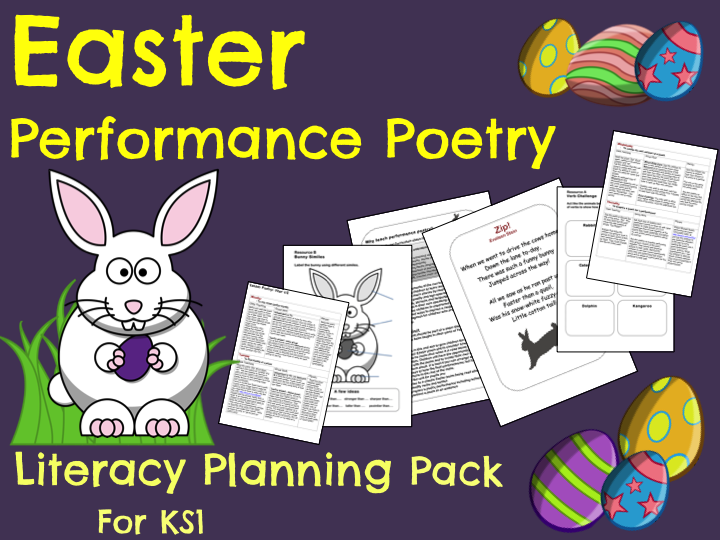 'Easter Performance Poetry' Pack  -  Y1/2