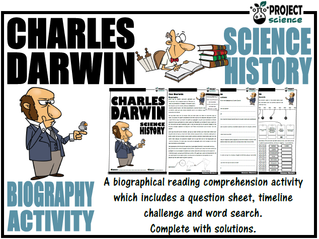Charles Darwin Biography Activity