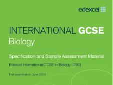 iGCSE Edexcel Biology Mind Maps