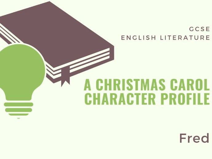 A Christmas Carol - Fred Character Profile