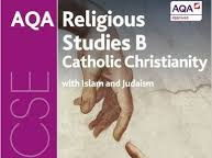 AQA Religious Studies B, Catholic Christianity 'Caring for the environment' pages 28 & 29.