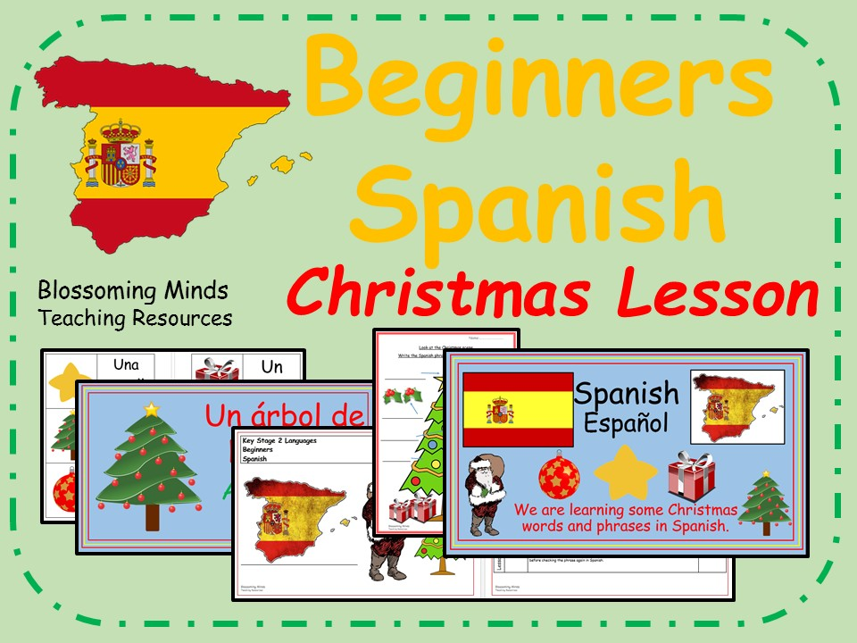 Spanish Lesson and Resources - KS2 - Christmas