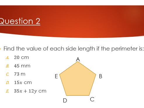GCSE revision lesson