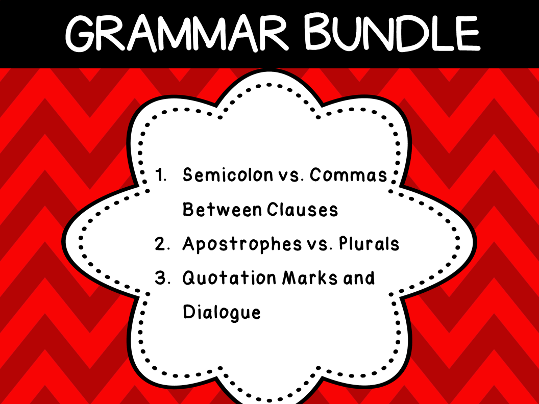Grammar Rules (3 Resources)