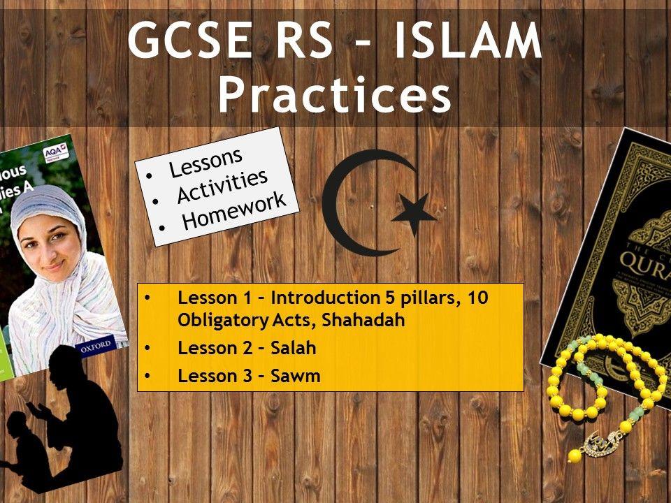 AQA GCSE RE RS - Islam Practices L1-3