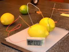 Fruit batteries