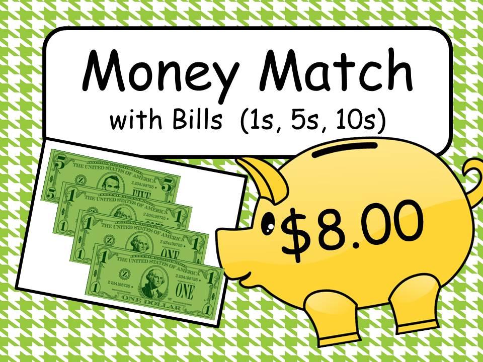 Money Match with Bills (US)