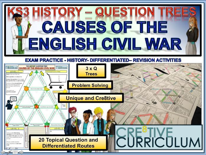 Causes of the English Civil War - HIS/C8/TL/01