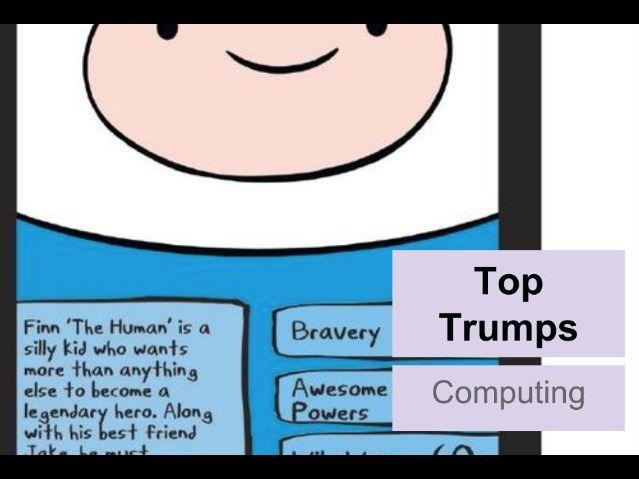Top Trumps Image Manipulation