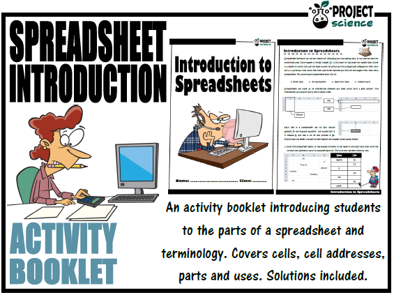 Introduction to Spreadsheets Activity Booklet