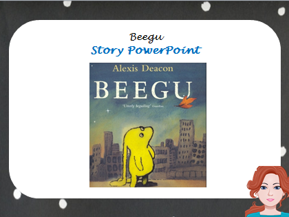 Beegu Story PowerPoint