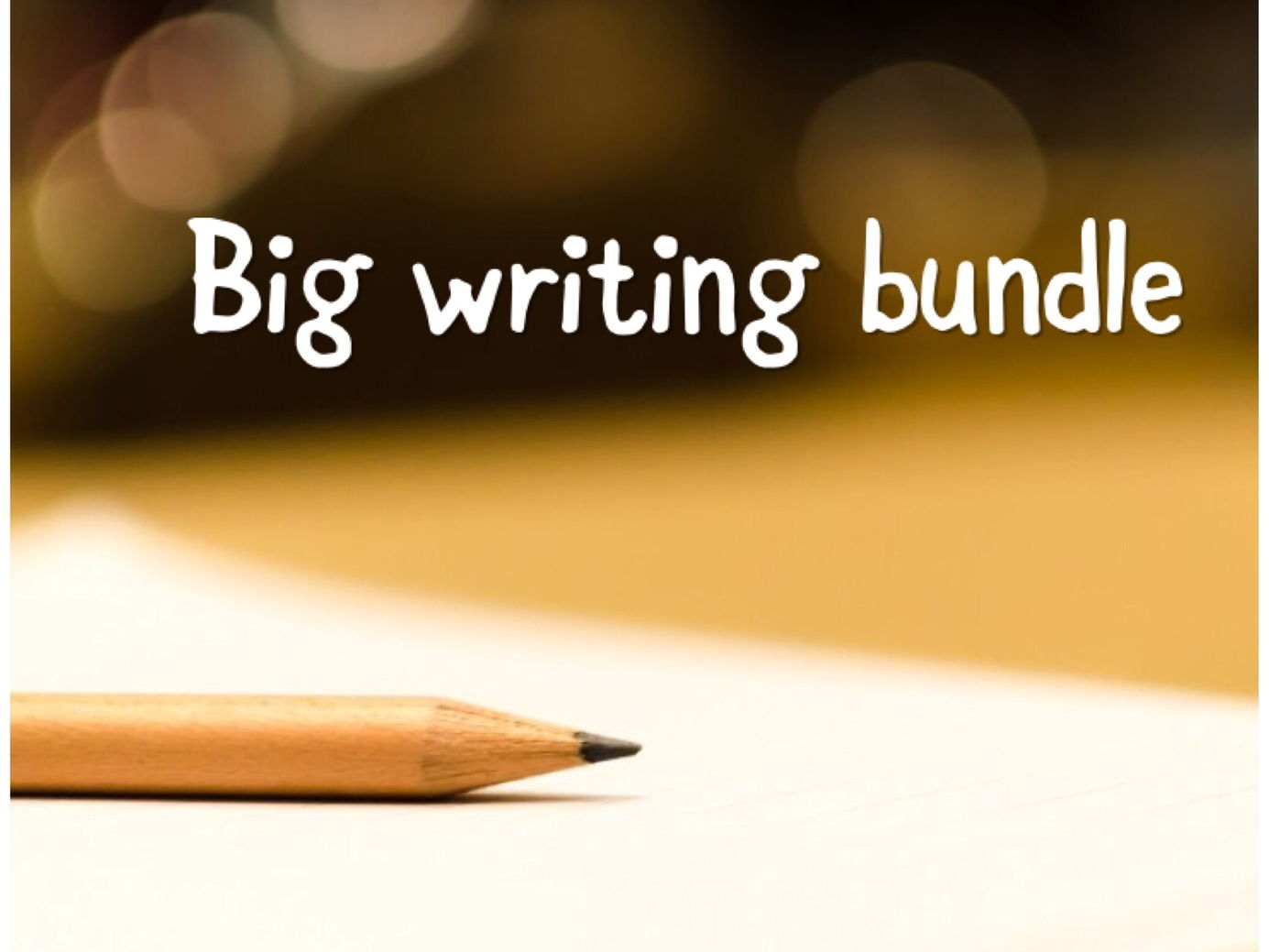 Writing bundle imaginative descriptive writing and transactional non fiction writing