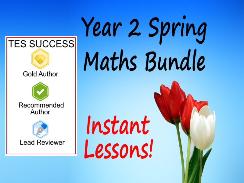 Year 2 Spring Term Maths Units Bundle